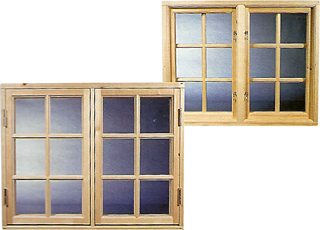 標準窓(二重ガラス)